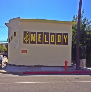 The Melody apartments, located on West Olive Ave in Burbank. Built 1960. (Photo by Nikki Kreuzer)