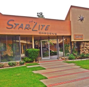 Star-Lite Gardens, located on Newhall Avenue in Santa Clarita. Built 1963. (Photo by Nikki Kreuzer)