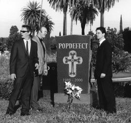 Popdefect promo photo by Toni Wells.