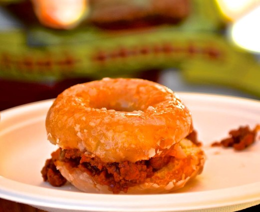 Krispy Kreme Sloppy Joe  (Eddie Lin)