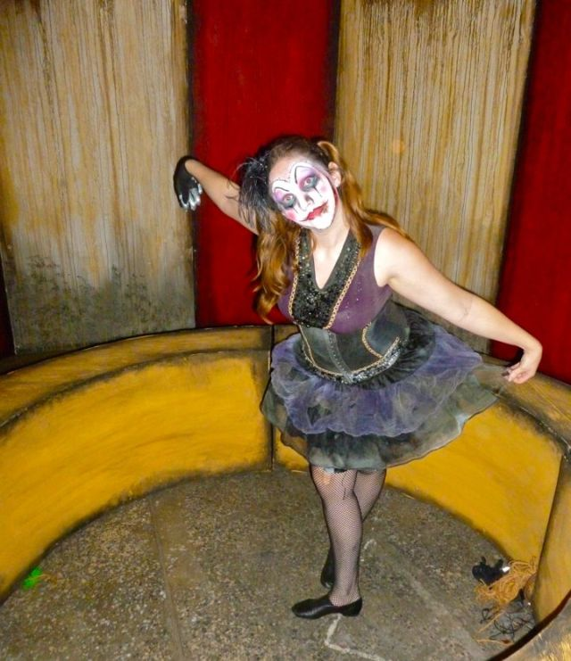 Inside the Circus Maze at Queen Mary's Dark Harbor (photo by Nikki Kreuzer)