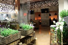 Dami sushi and Izakaya's interior provides a trendy place to meet friendly people and enjoy delicious Japanese cuisine