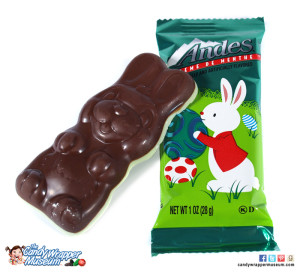 Andes Mint Bunny---some cute and tasty candy of today.