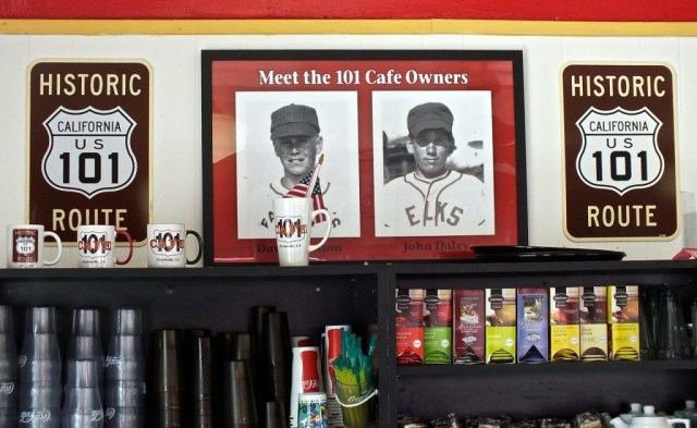 the 101 has photos of the original owners in the early days. Photo by Edward Simon for the Los Angeles Beat.