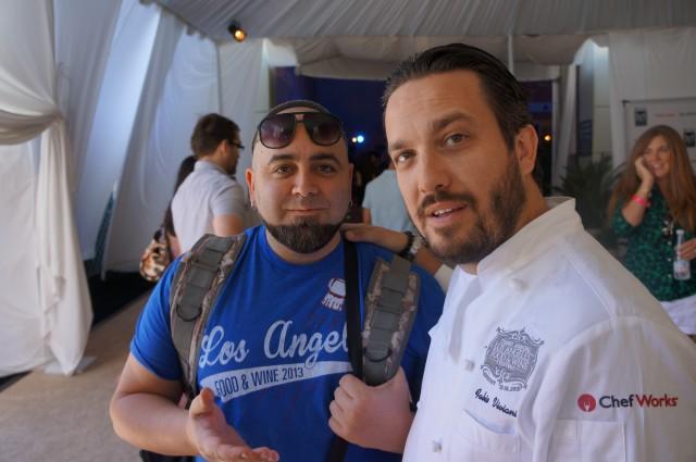 Duff Goldman and Fabio Viviani ALFW 2012