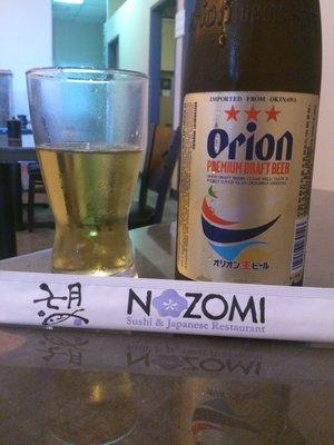 Nozomi Orion Beer