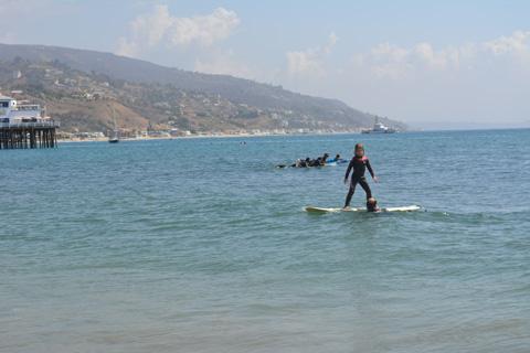 """Surfrider in training"" Photo by Paula Lauren Gibson/AfroPix"