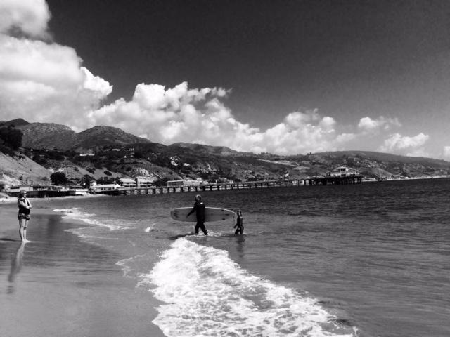 First Point, Malibu Surfrider Beach Photo by Paula Lauren Gibson/AfroPix