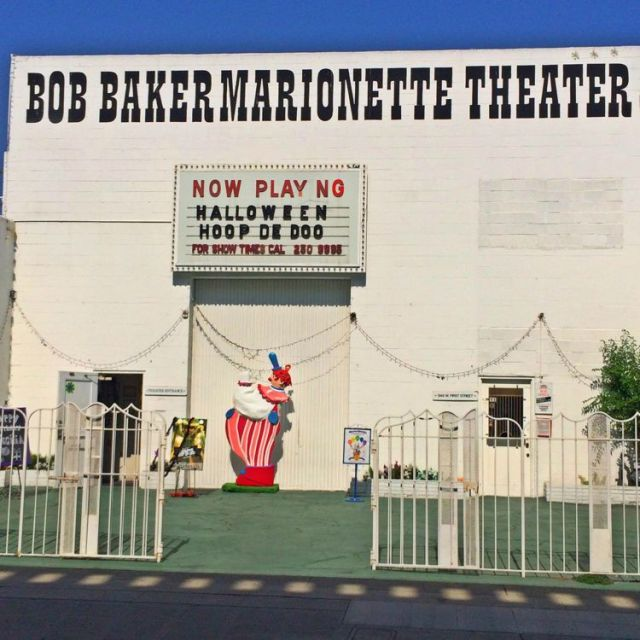 The Bob Baker Marionette Theatre (photo by Nikki Kreuzer)