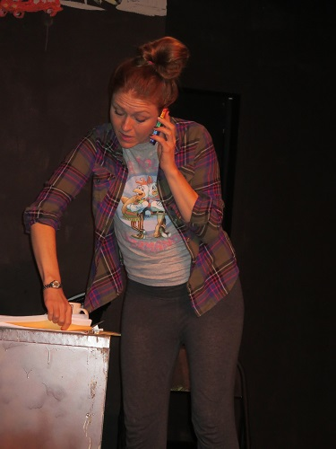 Marcie Brock as an absolutely unforgiving Lynn--Photo Courtesy of Stacy Ann Raposa