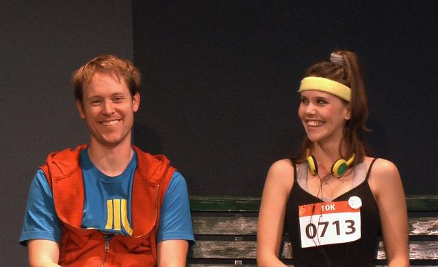Jeff Kongs (left), Kate Parkin (right), Photo Courtesy of Kitty Rose