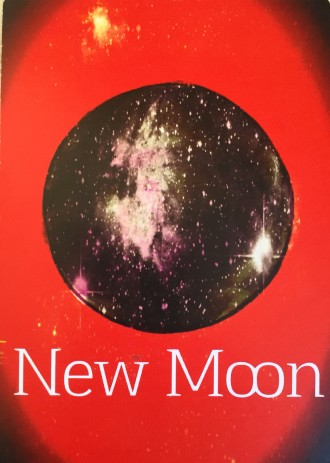 New Moon: from Marcella Kroll's Sacred Symbols Oracle Deck.