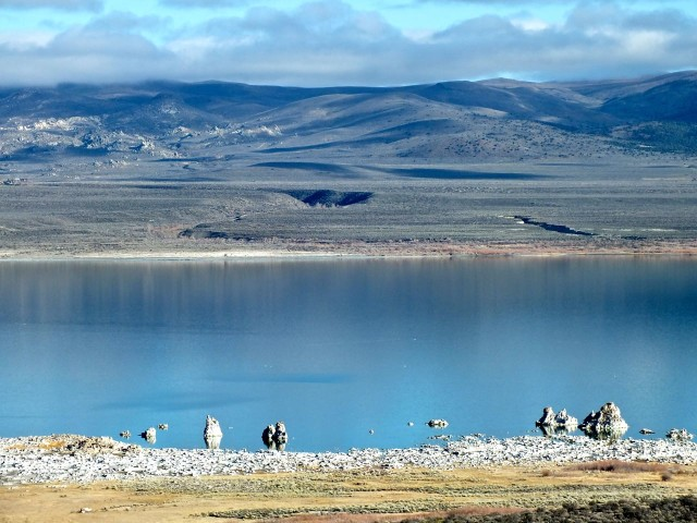Tufa at Mono Lake.Photo by Ed Simon  for The Los Angeles Beat.