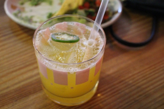 The Route 43 margarita at Border Grill.