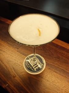 Del Frisco's VIP Martini. Photo by Ed Simon for The Los Angeles Beat.
