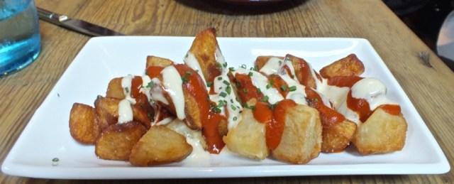 Patatas Bravas Plate.
