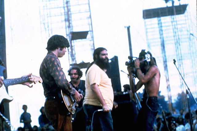Woodstock Festival of Arts and Music at Bethel, New York, August 1969. (AP Photo)
