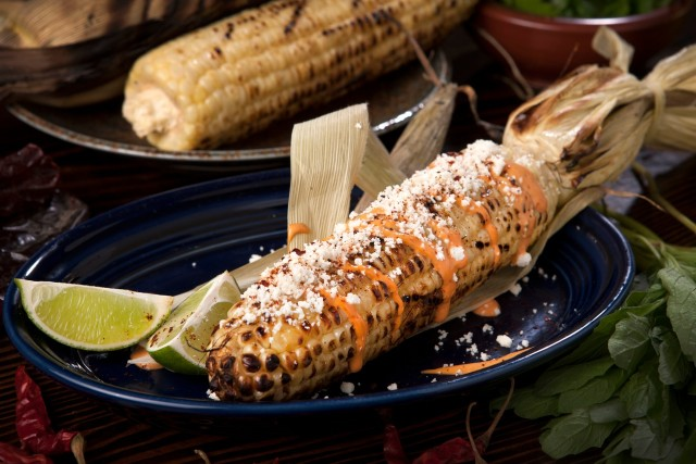 GrilledCornElote. Photo courtesy of Moxxe PR.