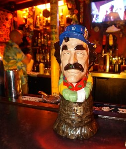 Magnum PI Tiki Mug. Photo by Ed simon for The Los Angeles Beat.