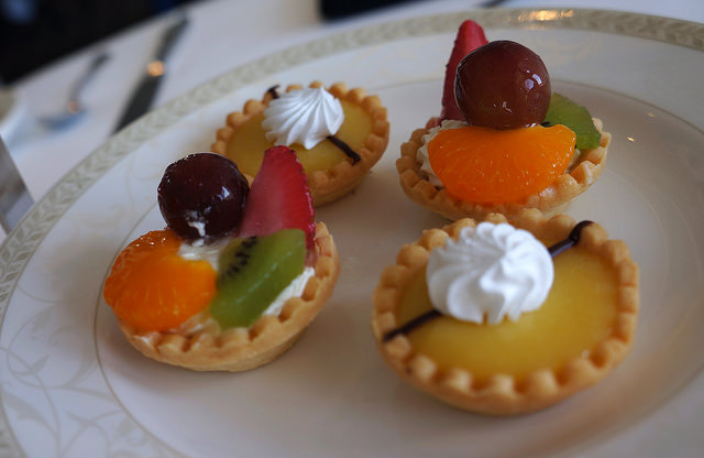 Lemon and California Fruit Tarts