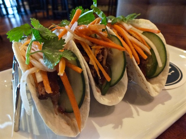 Asian Street Tacos. Photo by Ed Simon for The Los Angeles Beat.