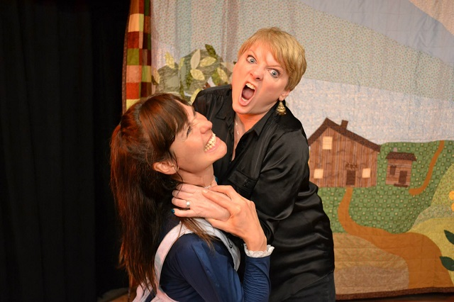 (L-R) Melanie Hudsell and Alison Arngrim, Photo Courtesy of BHBPR