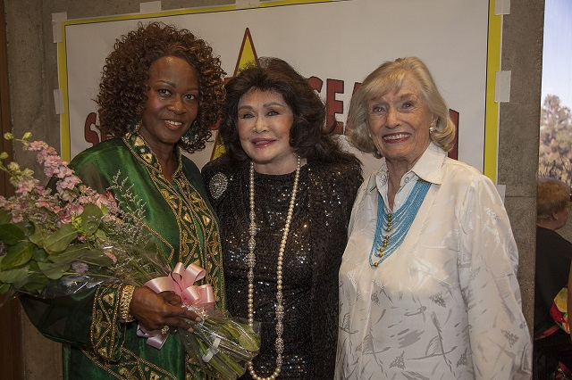 (L-R) Sandy Mack, Barbara Van Orden, and Miriam Nelson, Photo Courtesy of Bill Dow Photography