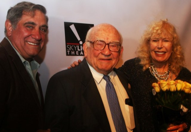 Actors Dan Lauria and Loretta Swit were among the numerous stars who came together to wish Ed Asner a happy birthday on November 1st. in Los Angeles.
