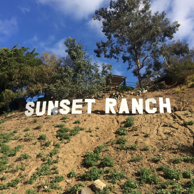 Entrance to Sunset Ranch (photo by Nikki Kreuzer)