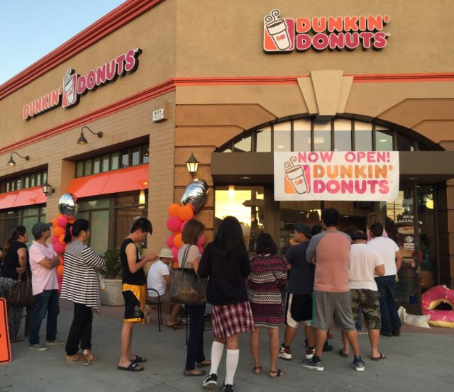 Dunkin' Donuts, Atwater Village (Photo: Michelle Nati)