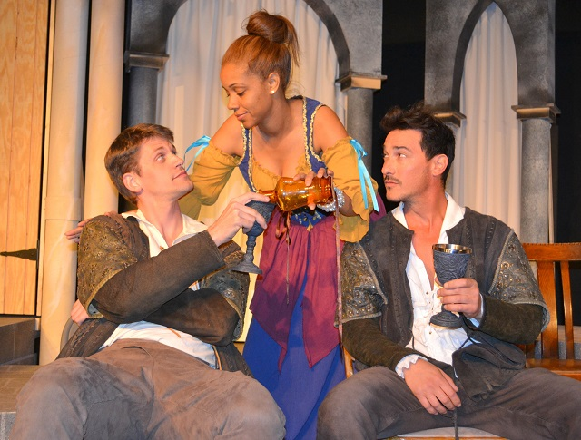 (L-R) Cassio, Bianca and Iago; Photo Courtesy of Mary Lange