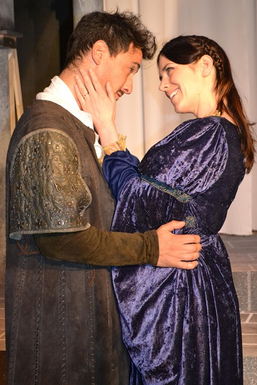 (L-R) Iago and Emilia; Photo Courtesy of Mary Lange