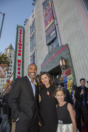 (LR) Donnell Turner, Finola Hughes, Brooklyn Rae Silzer--General Hospital, Photo Courtesy of Bill Dow