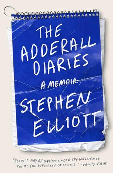 adderall diaries book art