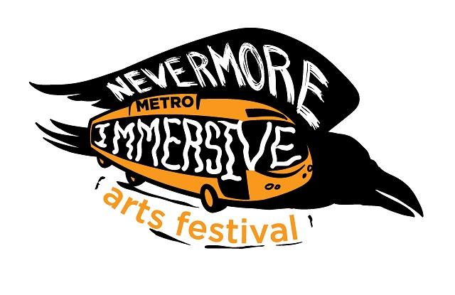 nevermore-metro-immersive-arts-festival-logo-designed-by-james-brooks