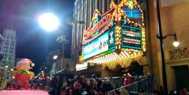 The El Capitan Theater.