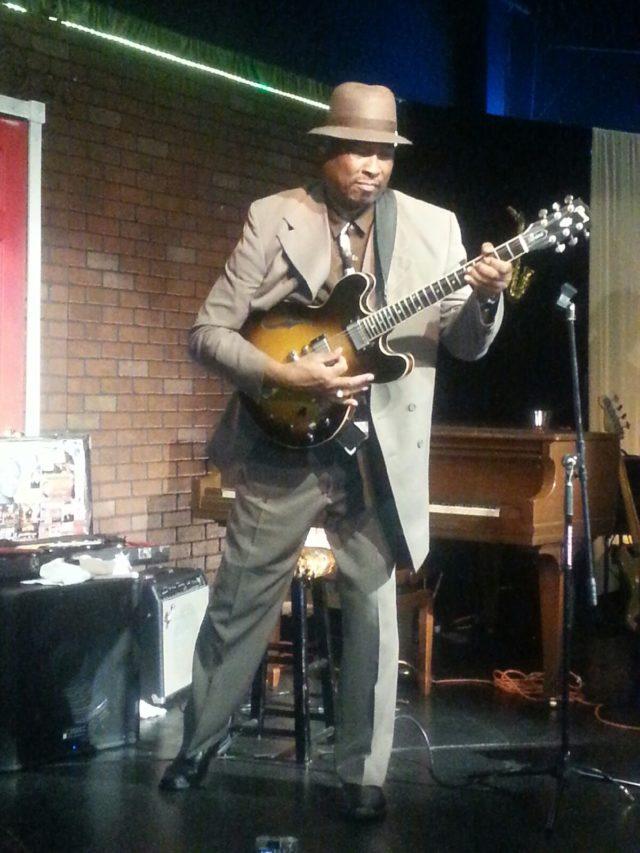 Blues Guitarist Lucky Lloyd