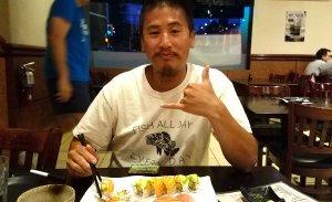 JT winning his Sushi
