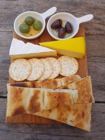 Cheese & olives at Ugly Duckling