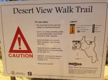 Walking trail at The Pinnacles