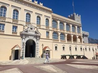 The Prince of Monaco's guards