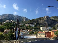 Our neighborhood right on the France/Monaco border