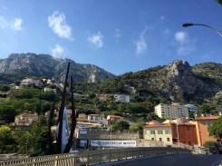 Our neighborhood right on the France/Monaco border
