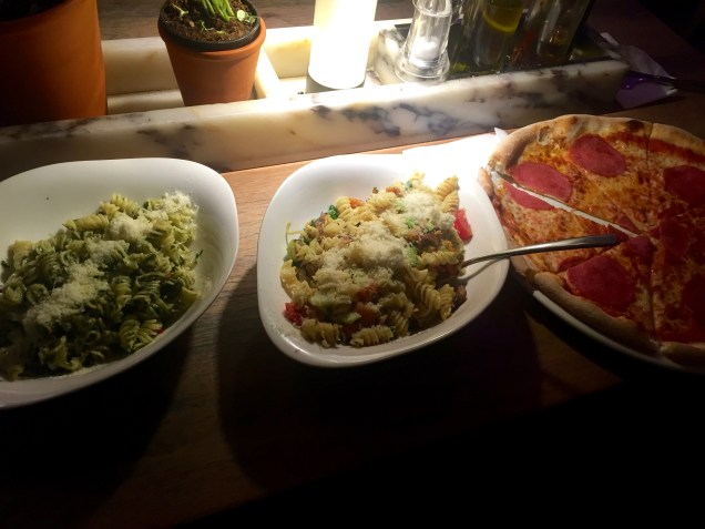 Lost in translation = two pasta dishes instead of one