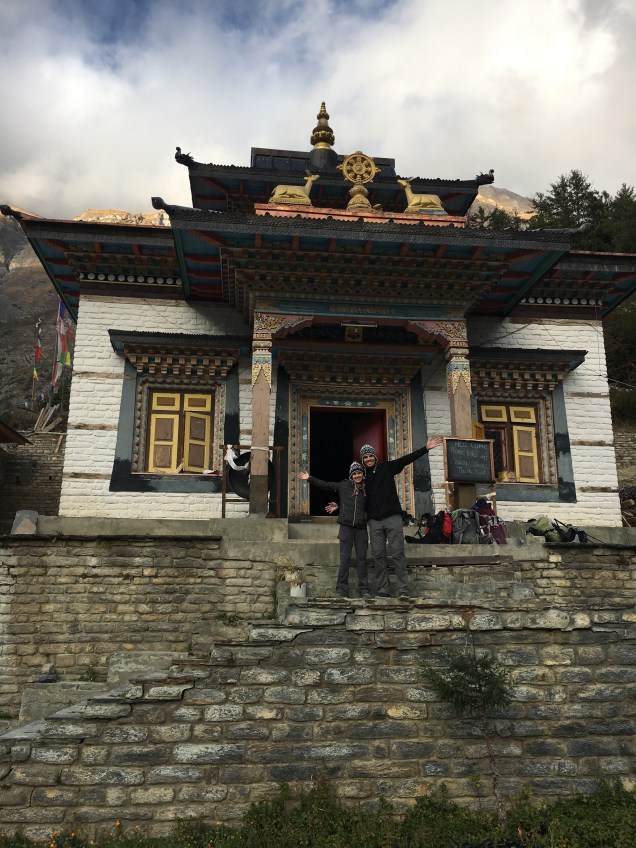 One of the monasteries we visited