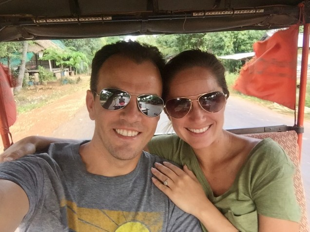 On our 2 hr tuk tuk ride to Beng Mealea