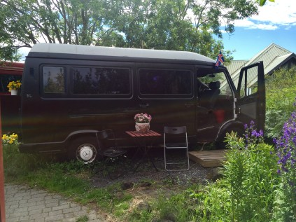 Iceland is very expensive, so we ended spending 4 nights in a van!