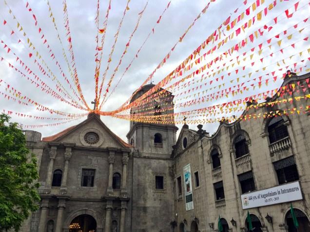 Beautiful Cathedral in Manila