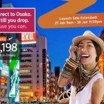 Jetstar Asia to Fly from Clark to Osaka Starting March 2018