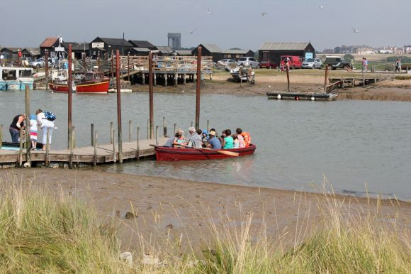 ferry across the river Blyth